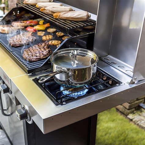 char broil signature tru infrared   burner cabinet
