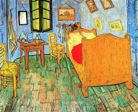 gogh the bedroom gogh s bedroom in arles cegur s chimera gallery of