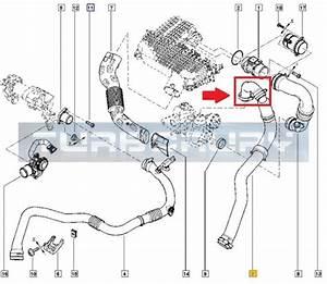Dacia Duster Logan Renault 1 5 Dci Turbo Intercooler Hose