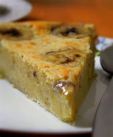 cannelle cuisine gâteau au chocolat blanc et à la banane une plume dans