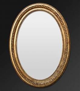 Spiegel Oval Antik : oval spiegel rahmen ornament mit perlen und ovale ~ Frokenaadalensverden.com Haus und Dekorationen