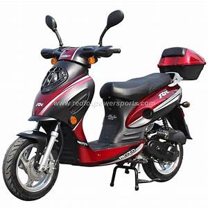 50cc Gas Scooter Moped Sta