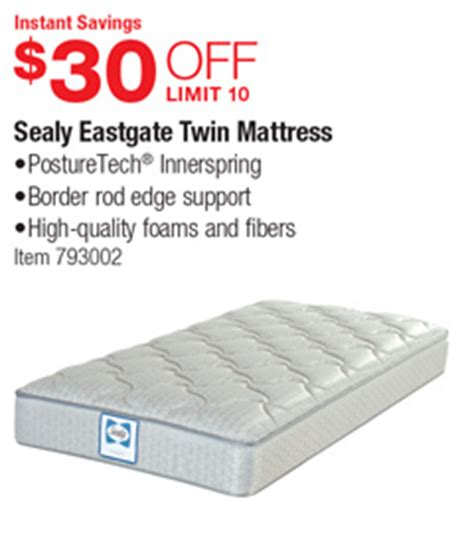 sealy eastgate mattress costco deal sealy eastgate mattress 30