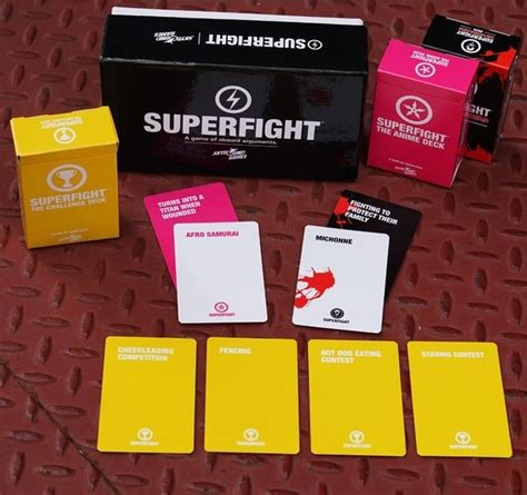 Superfight Deck 2 by Icv2 Skybound S Superfight Card Comes To Trade