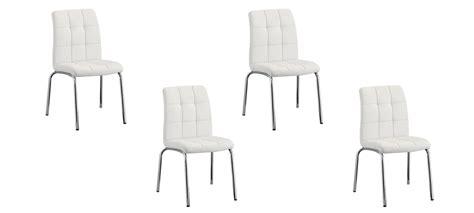 lot de 4 chaises blanches lot de 4 chaises blanches a vite essayer garantie