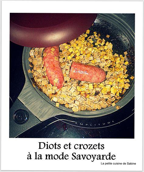 cuisine savoie crozets et diots de savoie facile recette sur cuisine