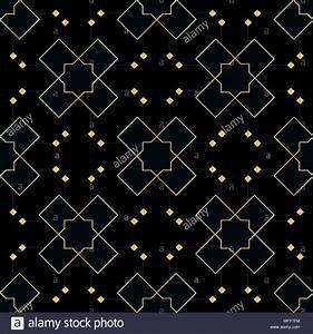 Papier Peint Noir Et Doré : ornement vectoriel continu en style arabe mod le pour papiers peints et fonds motif noir et ~ Melissatoandfro.com Idées de Décoration