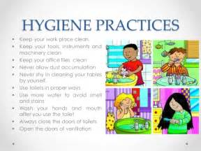 Personal Hygiene and Health