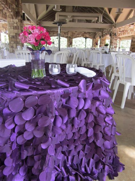 Contempo Linens, Linens, Couture Table Linens, Ibiza, Purple