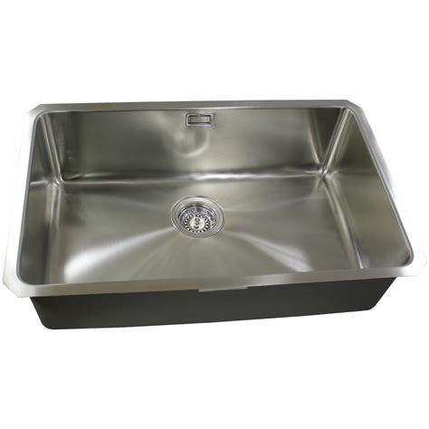 large bowl kitchen sink bluci orbit 25 large bowl undermount sink sinks taps 6783