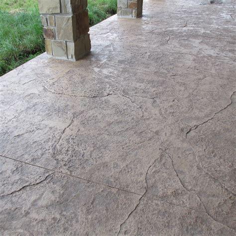 textured concrete patio ron wagenbach concrete photogallery