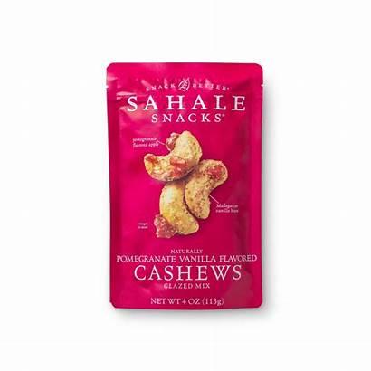Cashews Pomegranate Glazed Vanilla Flavored Snacks Mix