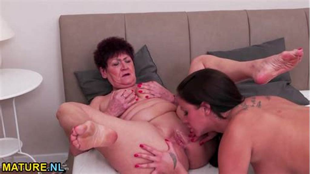 #Hot #Pregnant #Babe #Having #Sex #With #A #Dirty #Old #Lesbian