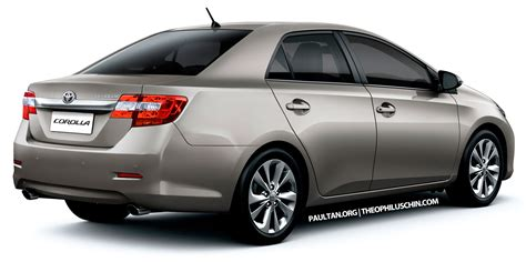 Toyota Corolla Altis Picture by New Toyota Corolla Altis Sedan To Debut In 2013