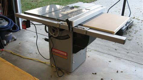 craftsman professional cabinet saw review craftsman 22116 premium hybrid tablesaw by dnick
