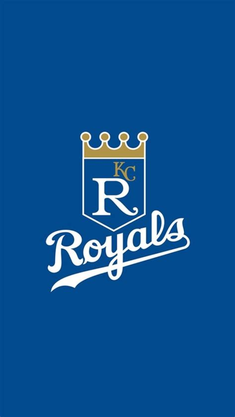 kansas city royals logo wallpaper  iphone wallpapers