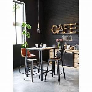 Table Industrielle Maison Du Monde : buffet en manguier massif 7 beautiful fashion pinterest bar chaise bar et maison du monde ~ Teatrodelosmanantiales.com Idées de Décoration