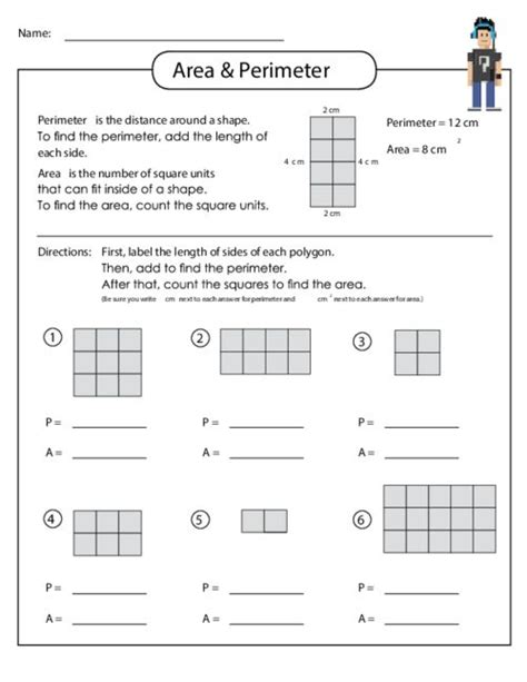 best 25 area and perimeter worksheets ideas on