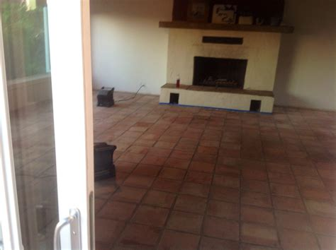 Saltillo Tile Sealer Based by Saltillo Mexican Tiles Stripped Cleaned Sealed In