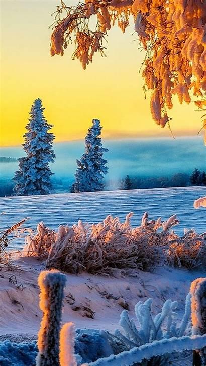 Iphone Winter 4k Sunrise Wallpapers Ultra Nature