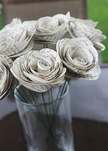 Comment Faire Des Choses En Papier : recyclage et d coration vive les vieilles pages de ~ Zukunftsfamilie.com Idées de Décoration