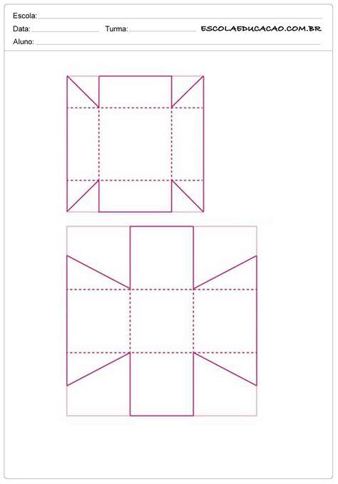 2 caixinhas moldes de caixas de papel escola educa 231 227 o