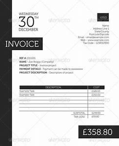 6 Professional Invoice Design Templates | Wakaboom