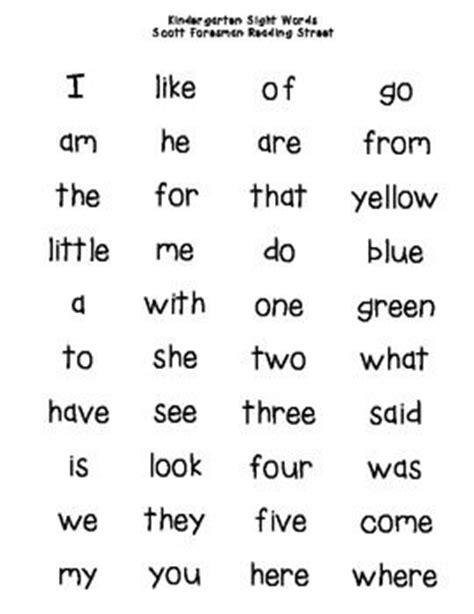 kindergarten 40 kindergarten sight words 946 | 42b1f722d7c4642df762e861138e77db