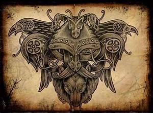 Dessin Symbole Viking : viking tattoo tattoo tatouage nordique tatouage viking et tatouage celtique ~ Nature-et-papiers.com Idées de Décoration