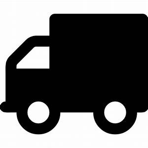 Delivery truck silhouette - Free transport icons