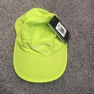 Nike Nike Neon Pink Green Active Wear Hat Tennis from