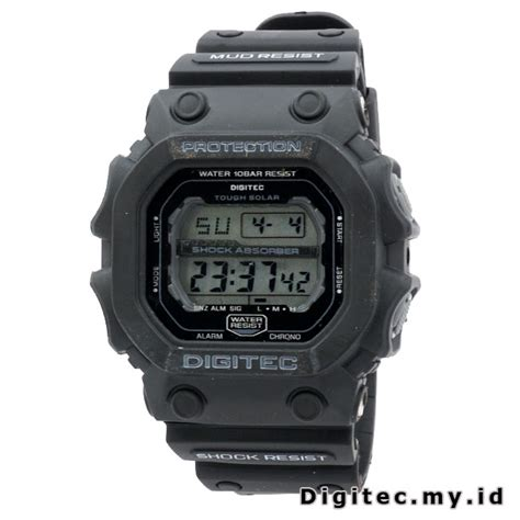 jam tangan original digitec kotak digitec dg 2012t black jam tangan sport anti air