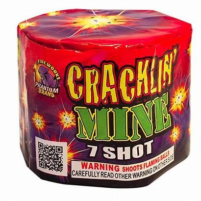 Gram Fireworks Mine Shot Crackling Repeaters