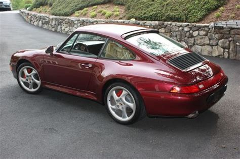 Sell Used 1996 Porsche 911 C4s 993 Coupe 6 Speed Beautiful
