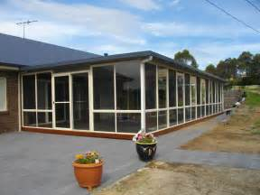 Glass Enclosed Deck by Patios Carports Screened Rooms Hunter Valley