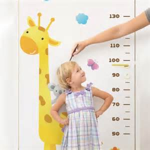 everyone in your class likes measuring height in metric wall stickers