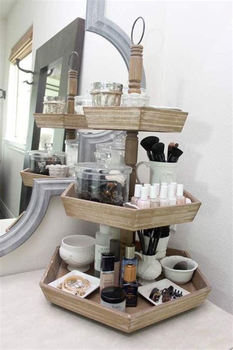 bathroom vanity organization ideas  pinterest