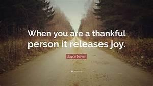 Joyce Meyer Quo... Joyce Meyer Thankful Quotes