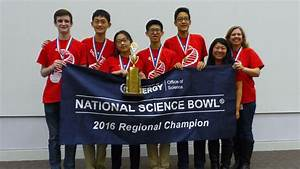 Troy High School Takes First Place at Regional Science Bowl