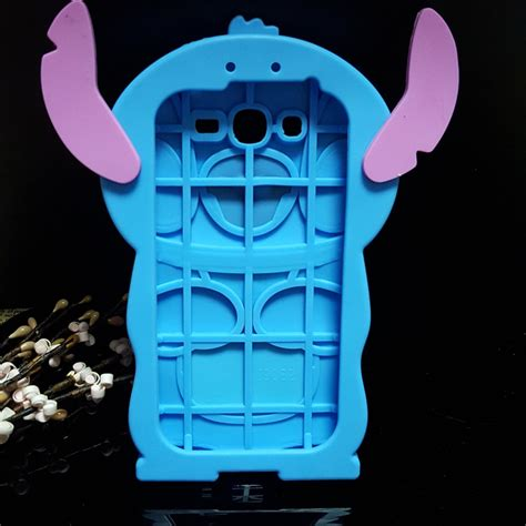 jual 4d stitch oppo neo 5 a31 softcase karakter rubber silikon casing cover 3d soft lilo