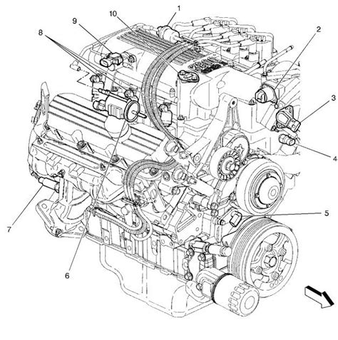 V6 Engine Diagram With Name by 99 V6 Code Issue Cooling Sensor Camaroz28 Message