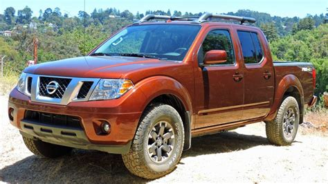nissan frontier pro  review  nissan frontier