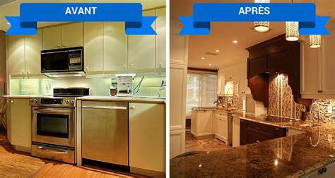 la cuisine est un rénovation de cuisine armoires cuisines