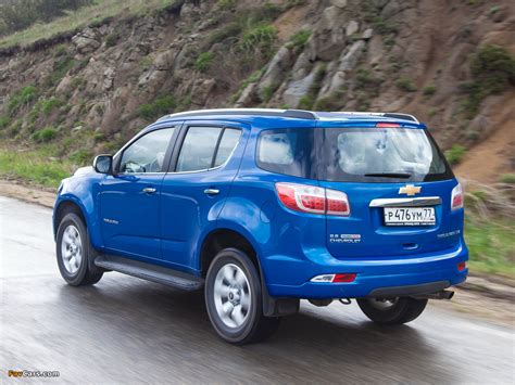 Chevrolet Trailblazer Picture by Chevrolet Trailblazer 2012 Pictures 1024x768