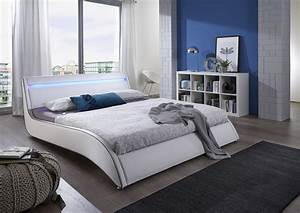 Betten Mit Led 140x200 : sam design polsterbett wei 140 cm surf led ~ Yasmunasinghe.com Haus und Dekorationen