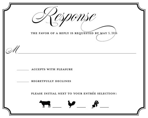 Wedding Invitation Rsvp Wording Samples PaperInvite