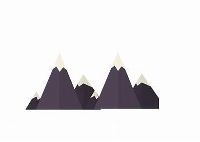 Mountain Mountains Silhouette Transparent Snow Clip Clipart