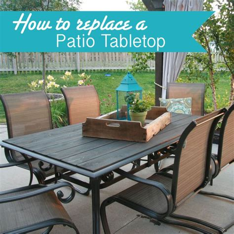 patio table top ideas 25 best ideas about glass table redo on