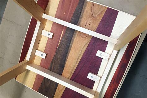 multiple wood species  table designable
