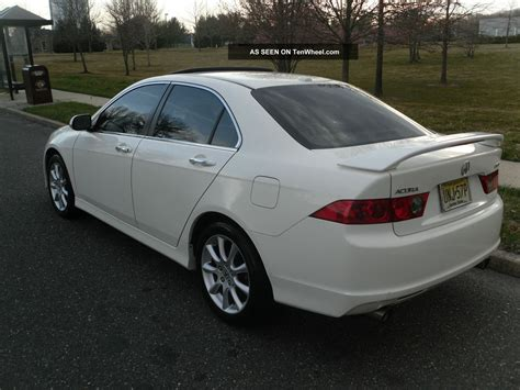 2007 acura tsx base sedan 4 door 2 4l